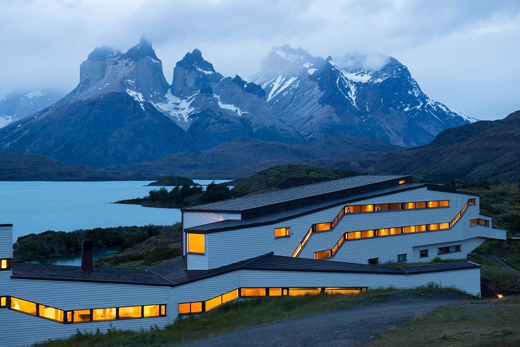 CHILE. PARQUE NACIONAL TORRES DEL PAINE. Hotel Explora Salto Chico.