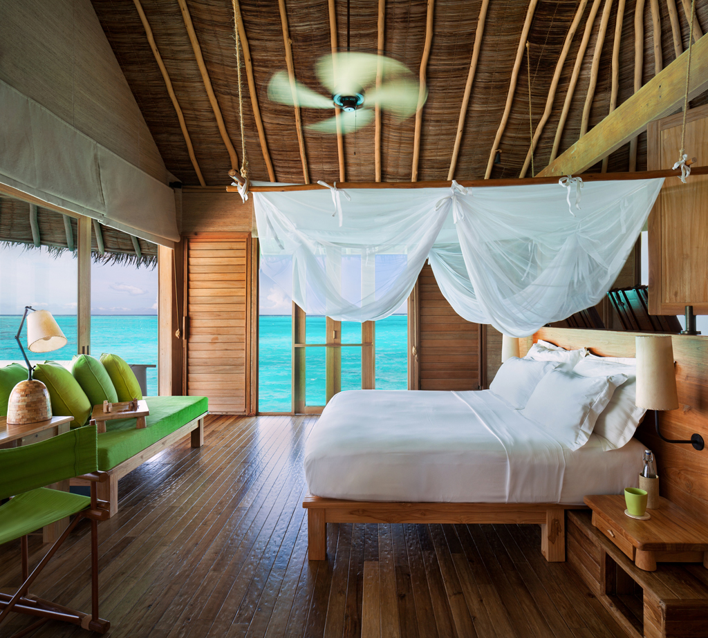 At Six Senses Laamu, 97 Water And Beachfront Villas Are Constructed Of  Sustainable Materials And Spread Around The Palm Fringed Island Paradise.