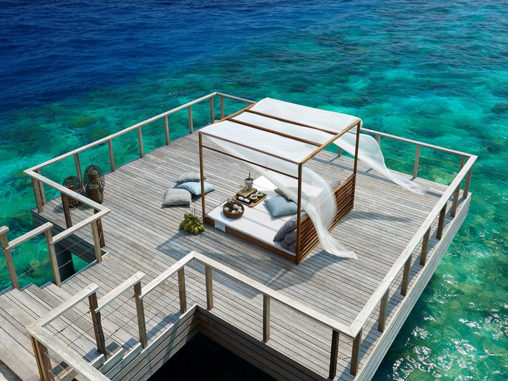 Now You Can Enjoy Floating Breakfast At Dusit Thani Maldives